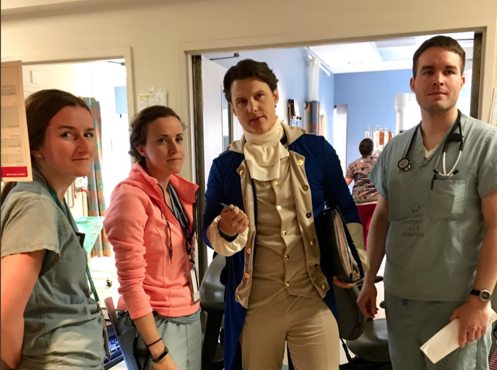 SGEM#200: Dr. Alexander Hamilton and Bloodletting for Camp Fever