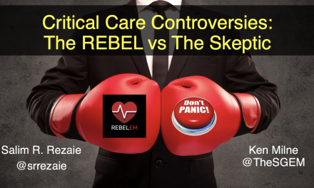 SGEM Xtra: The REBEL vs. The Skeptic – SMACC 2019