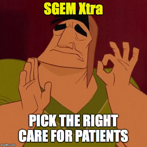SGEM Xtra: Right Care Memes