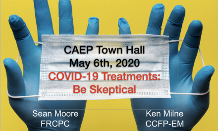 SGEM Xtra: COVID19 Treatments – Be Skeptical